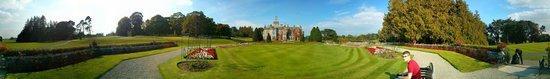 Adare Manor: Panorama of manor