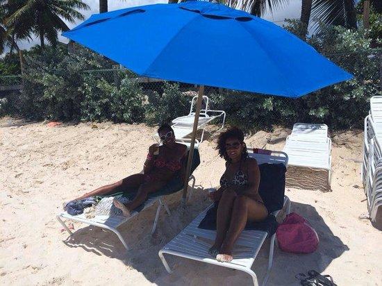 Barbados Beach Club: The hotel beach