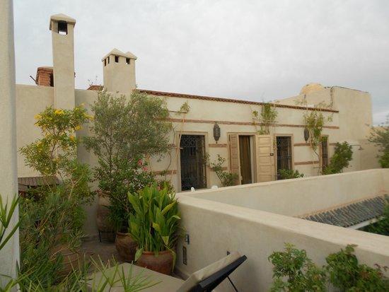 Riad Al Massarah: Jade Room on Terrace