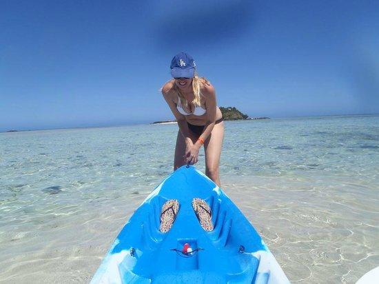 Malolo Island Resort: beachfront