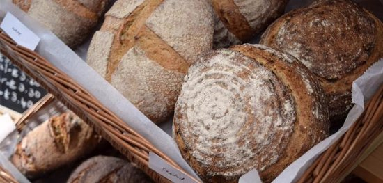 The Good Earth: Sourdough baked fresh in our kitchen