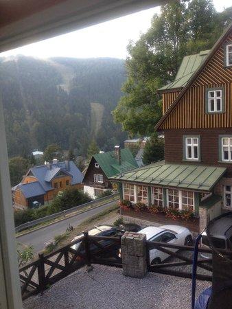 Hotel Pod Jasany: Vyhled z pokoje