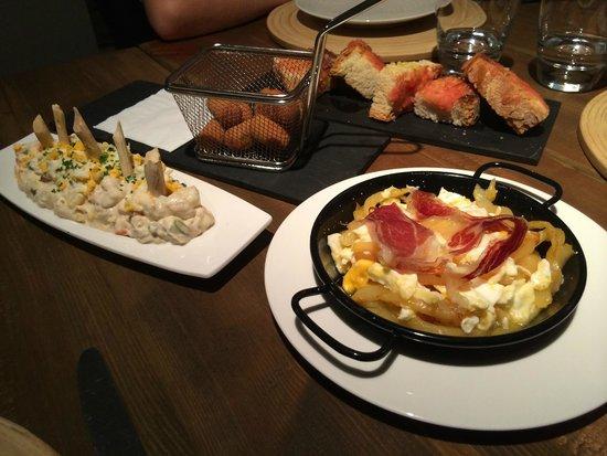 Restaurante Fornello : Muestra de tapas