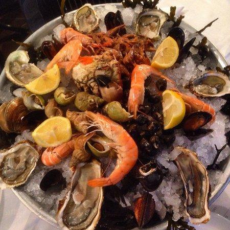 "Le Grand Bleu: ""Тарелка с ракообразными и морепродуктами"""