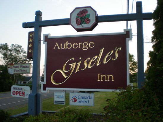 Auberge Gisele's Country Inn: Gisele's entrance
