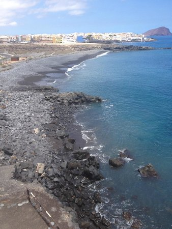 Rocky Beach Next To Hotel Many People Do Swim And Hang Out Here Picture Of Vincci Tenerife Golf Golf Del Sur Tripadvisor