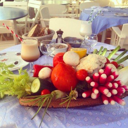 Le Club 55 : Свежие провансальские овощи