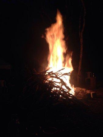 Oloolua Nature Trail: Bon fire