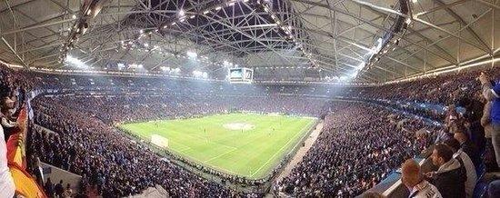Veltins Arena: Real Madrid- Shalke 04