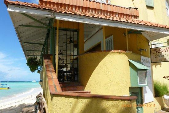 Bellini's: Staircase upto restaurant