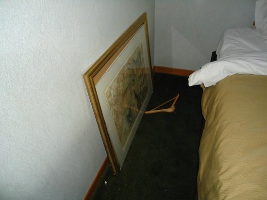 Canal Inn: picture fell broke glass and made us change rooms