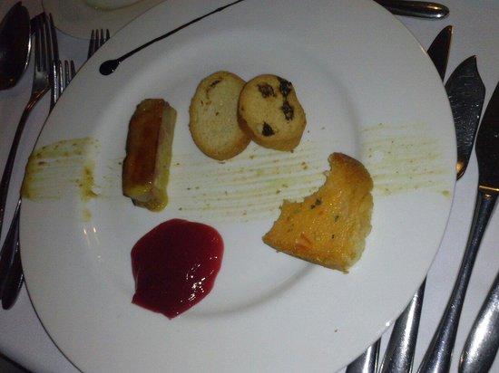 Hotel San Roque: Foie mi cuit