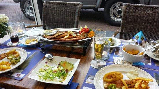 Oud Zandvoortsch Vischrestaurant De Meerpaal: Fischplatte 2 Personen