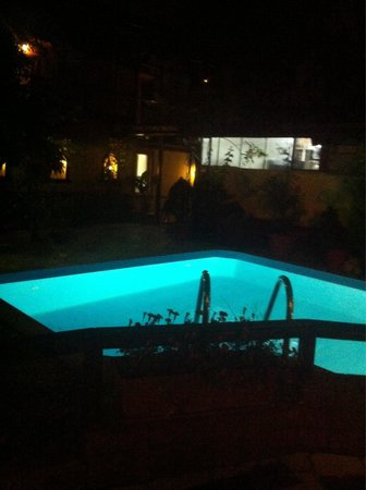 Pension Casa Mica: View of the pool
