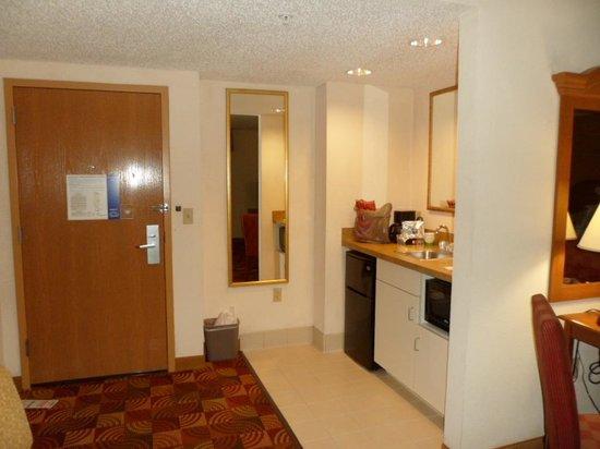 Hampton Inn & Suites Orlando International Drive North: Fridge & Micro and sink