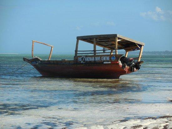 Villa Kiva Resort and Restaurant: tipiche imbarcazioni locali