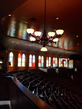 Ryman Auditorium: Right Balcony