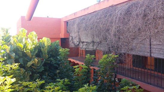 Hotel Beltran: Vista da varanda do patio interno