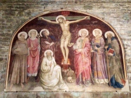 Basilica San Miniato al Monte: Uno de los hermosos frescos