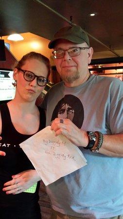 Byers Street Bistro : Katie rocks. Great bartender and server