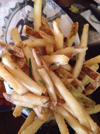 B Spot Burgers: Rosemary fries