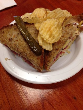 Morton's Bakehouse: To die for Rueben sandwich, which is grilled on the artisan rye bread with homemade sauerkraut!