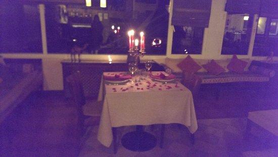 Incre ble cena rom ntica para celebrar nuestro - Detalles para cena romantica ...