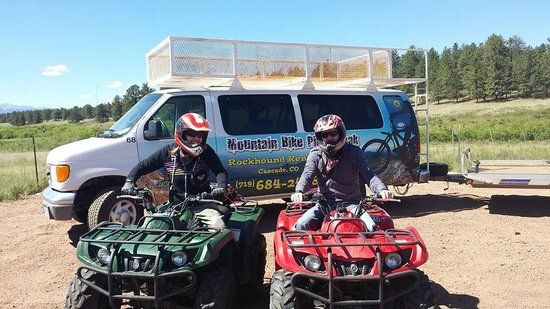 Cascade, CO: ATV fun in Pike National Forest