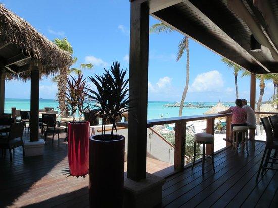 Holiday Inn Resort Aruba - Beach Resort & Casino : View from Sea Breeze