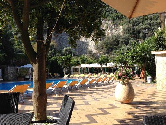 Grand Hotel Parco Del Sole: la section piscine