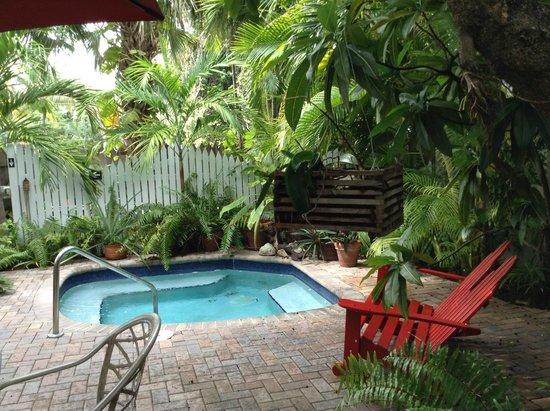 Tropical Inn : Relaxing tropical hot tub