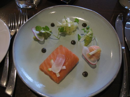 The Cottage in the Wood: Cured Salmon roulade
