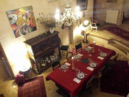 La Cuverie du Chateau : La salle à manger