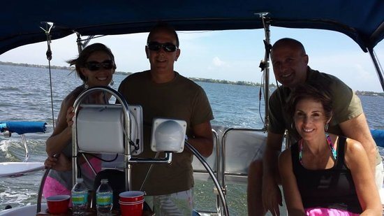 At the Helm Sailing Charters : Afternoon with friends
