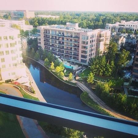 The Woodlands Waterway Marriott Hotel & Convention Center : view from floor 12
