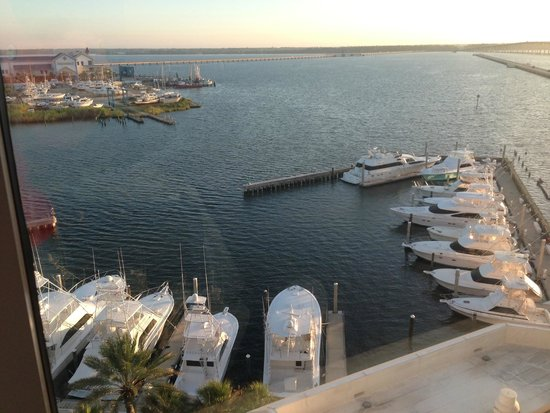 Palace Casino Resort: another view of yachts