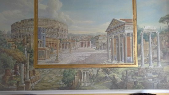 Hotel Solis: Painting on entrance