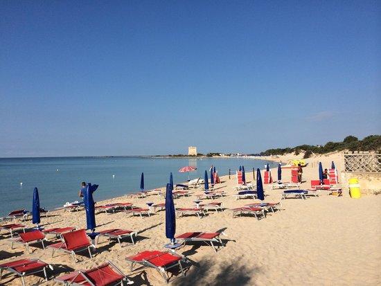 Le Dune Suite Hotel: Beach