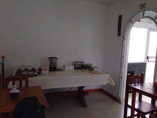 Casa de Mar Posada: Sala de estar...