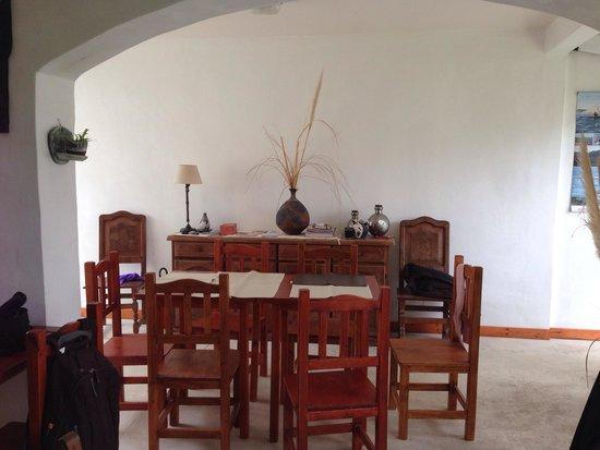 Casa de Mar Posada: Sala principal, común a todas las habitaciones