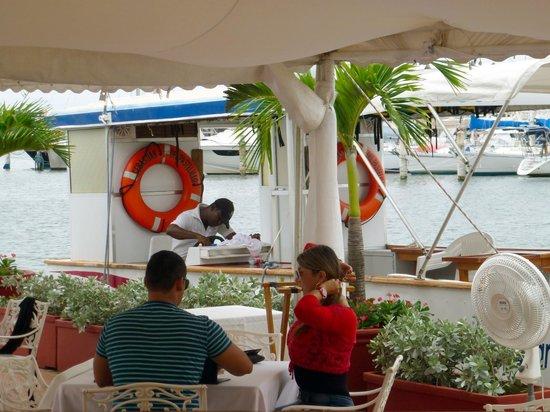 Restaurante Club de Pesca: PANORAMICA