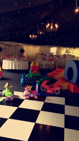 Combe House Hotel: Loads of soace for the soft olay and toddlers