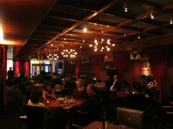 Inside the main dining room - Picture of Rx Boiler Room, Las Vegas ...