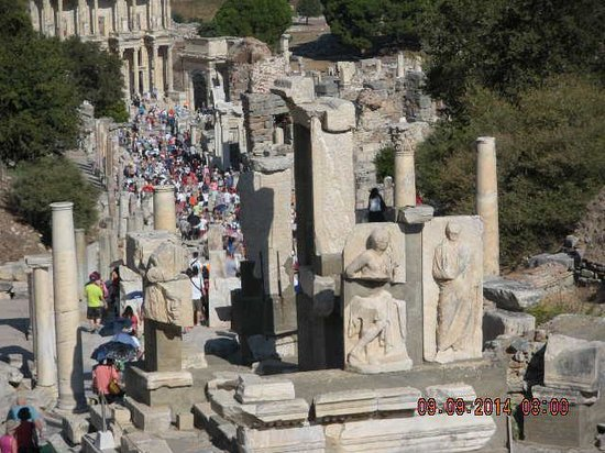 Mosaic Walkway at Ephesus - Picture of Ephesus Shuttle Day ...