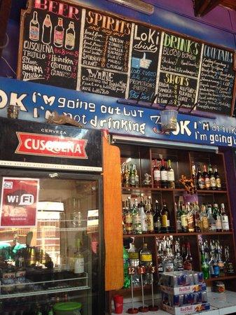 LOKI Cusco: Bar Loki
