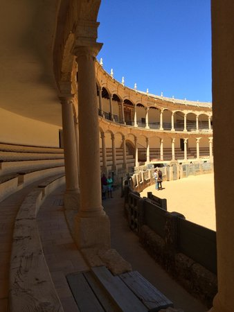 """Plaza de Toros: Great afternoon walking around the bull ring. Barbaric """"sport"""" but a fascinating cultural attrac"""