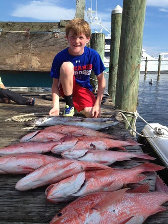 red snapper catch picture of gulf angler fishing