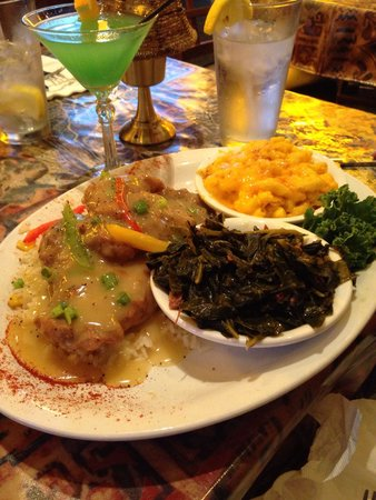 Smothered Pork Chops Picture Of Carolina Kitchen Bar And