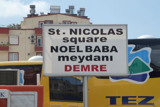 Church of St. Nicholas: St. Nicholas square (in Demre)