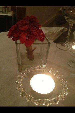 Restaurant Sant Pere del Bosc : Romántico